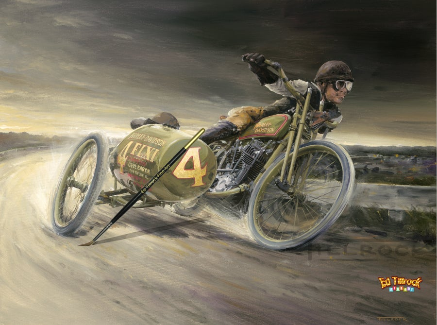 """Image of """"Flxi-Flyer""""  Signed and Numbered Color Giclee' Print"""