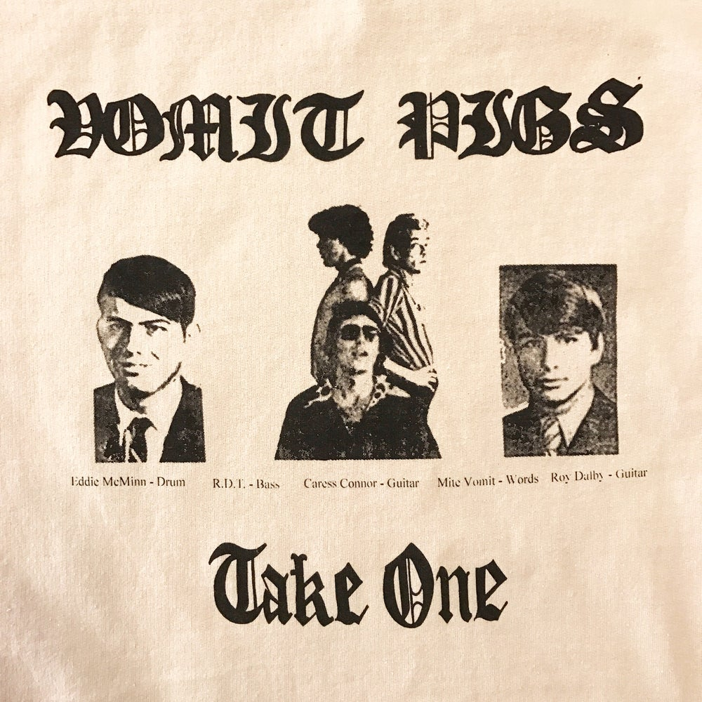 "Image of Vomit Pigs ""Take One"" Crew Neck"