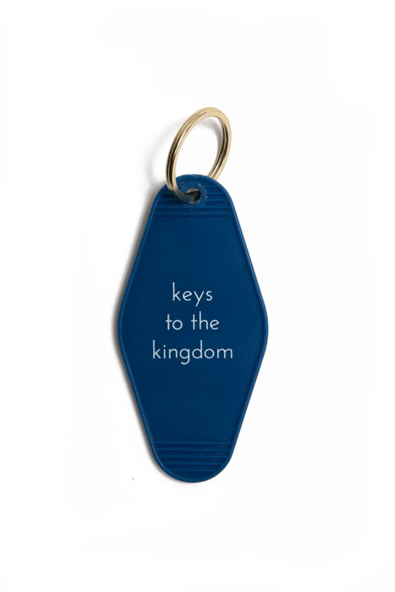 Image of keys to the kingdom keytag