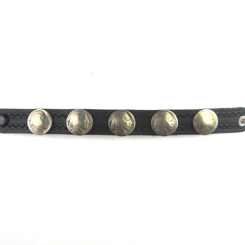 Image of Indian Head Cuff (Black)