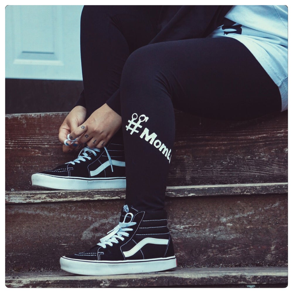 Image of #MomLife Leggings