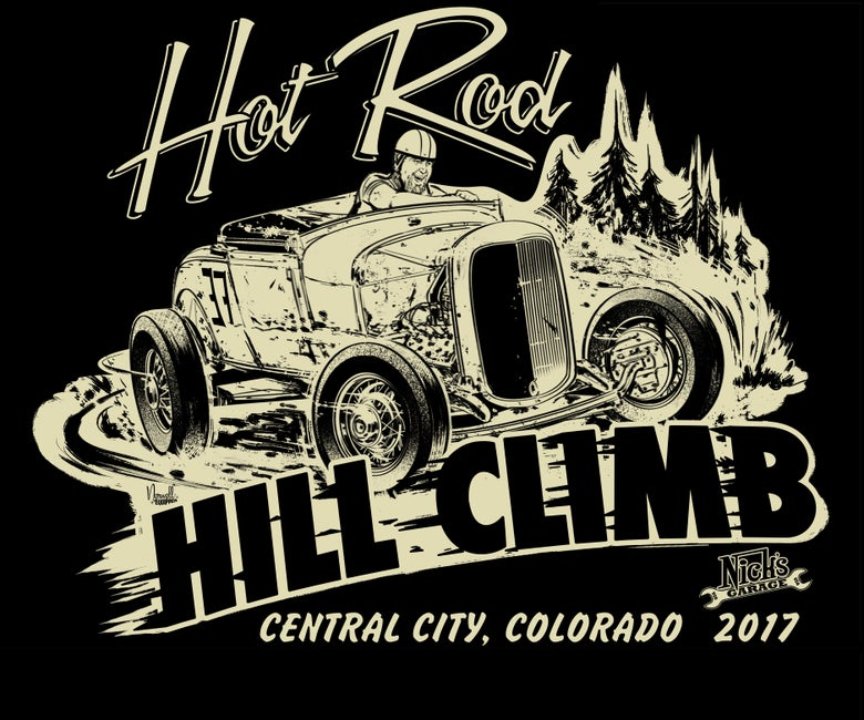 Image of Hot Rod Hill Climb Youth Tee's