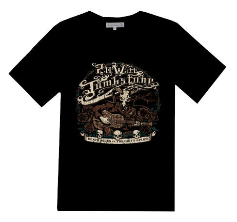 "Image of NEW! Dan Biesel ""Death Blues"" T-Shirt"