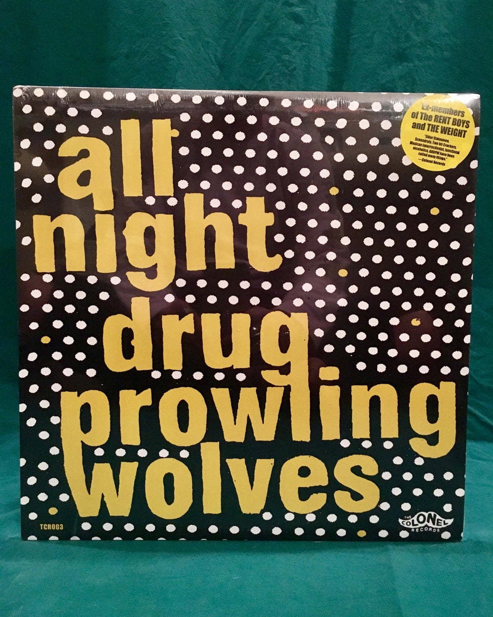 Image of All Night Drug Prowling Wolves Lp