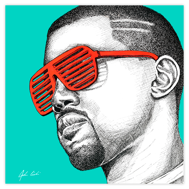 Image of Kanye West Hater Blockers - Fine Art Print