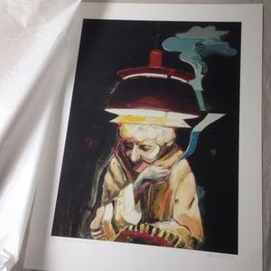 Image of Artprint / kunsttryk / 50x70 cm