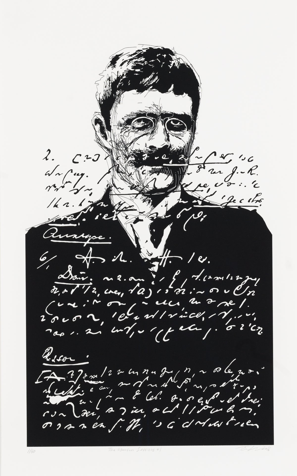 Image of The Hamsun Sessions Print