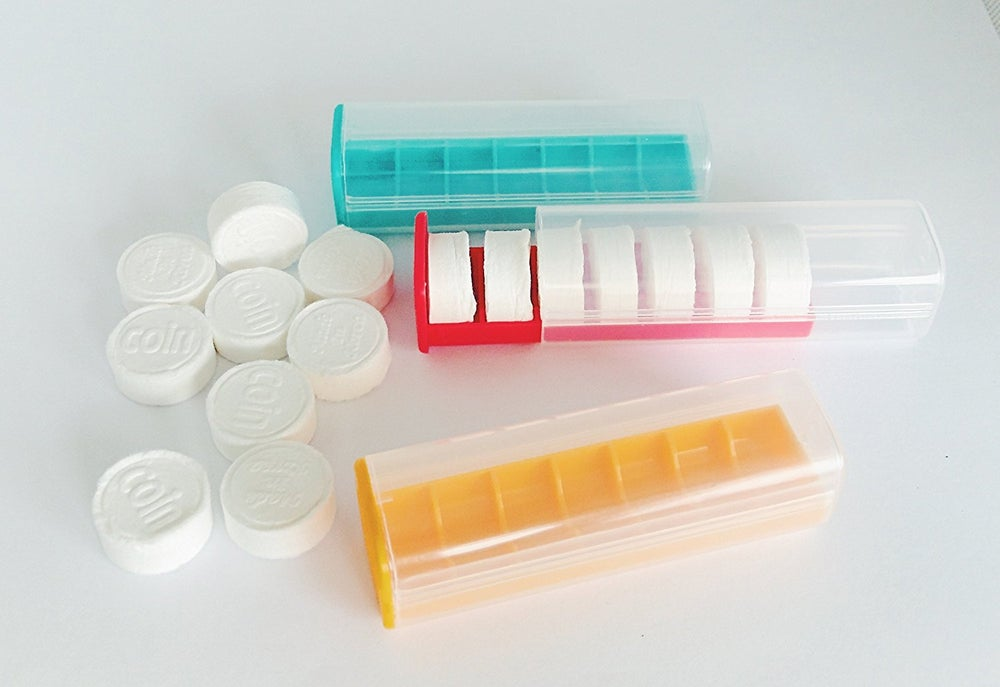 Image of COIN TISSUE Case or Refill Case (includes Seven Coin Tissues)
