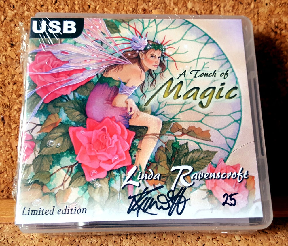 Image of Linda Ravenscroft's A Touch of Magic - Limited Edition Signed USB