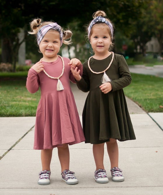 Image of Solid Peplums OR Twirl Dresses