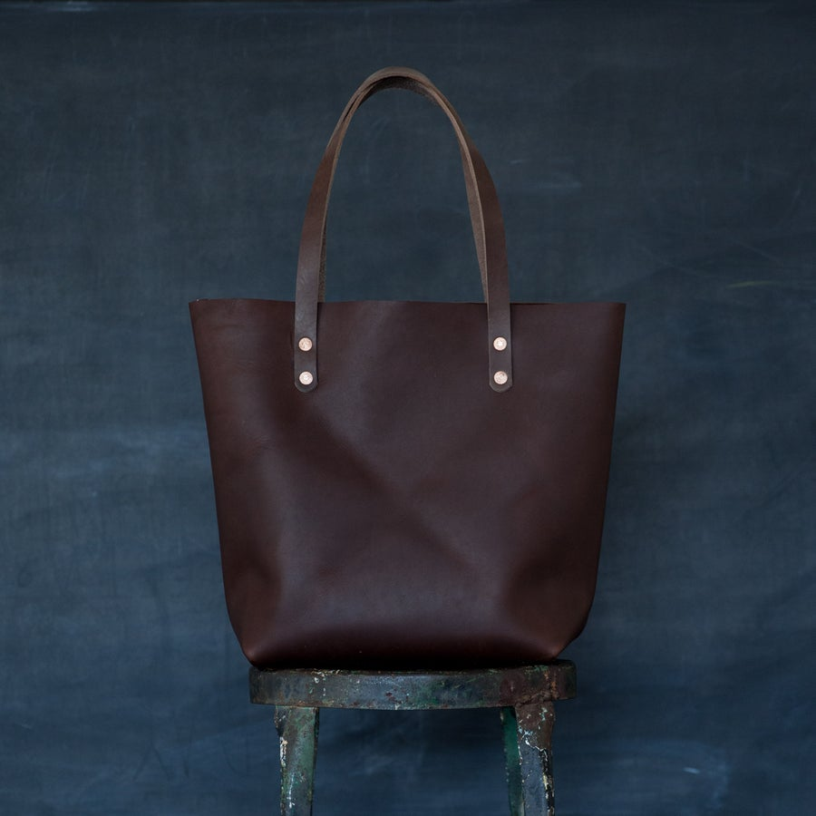 Image of Warm Brown Tote