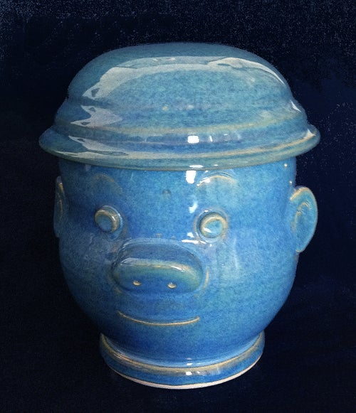 Image of Blue Sluggo Jar