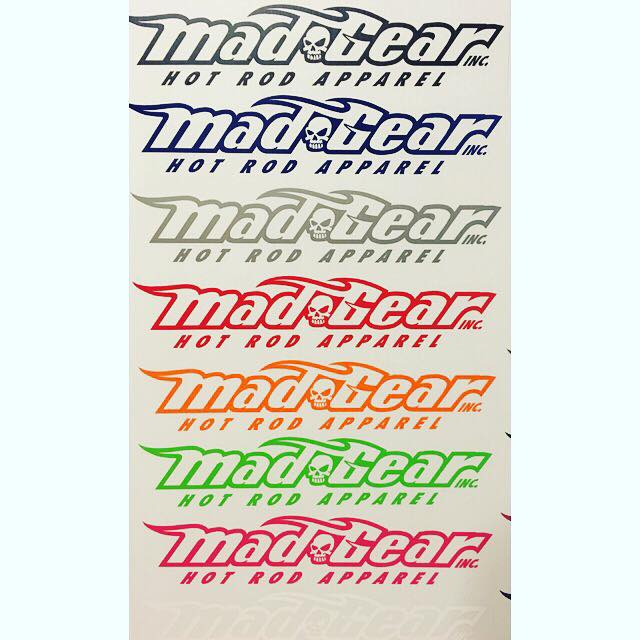 Image of $5 Mad Gear Decal - Single Color