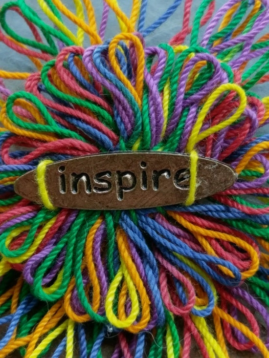 Image of Inspire Pin, handmade