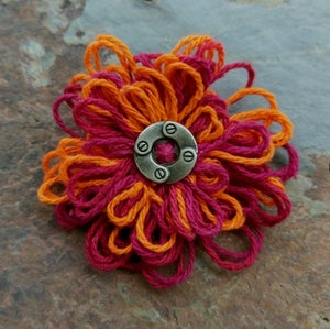 Image of Steampunk Squires Pin, handmade