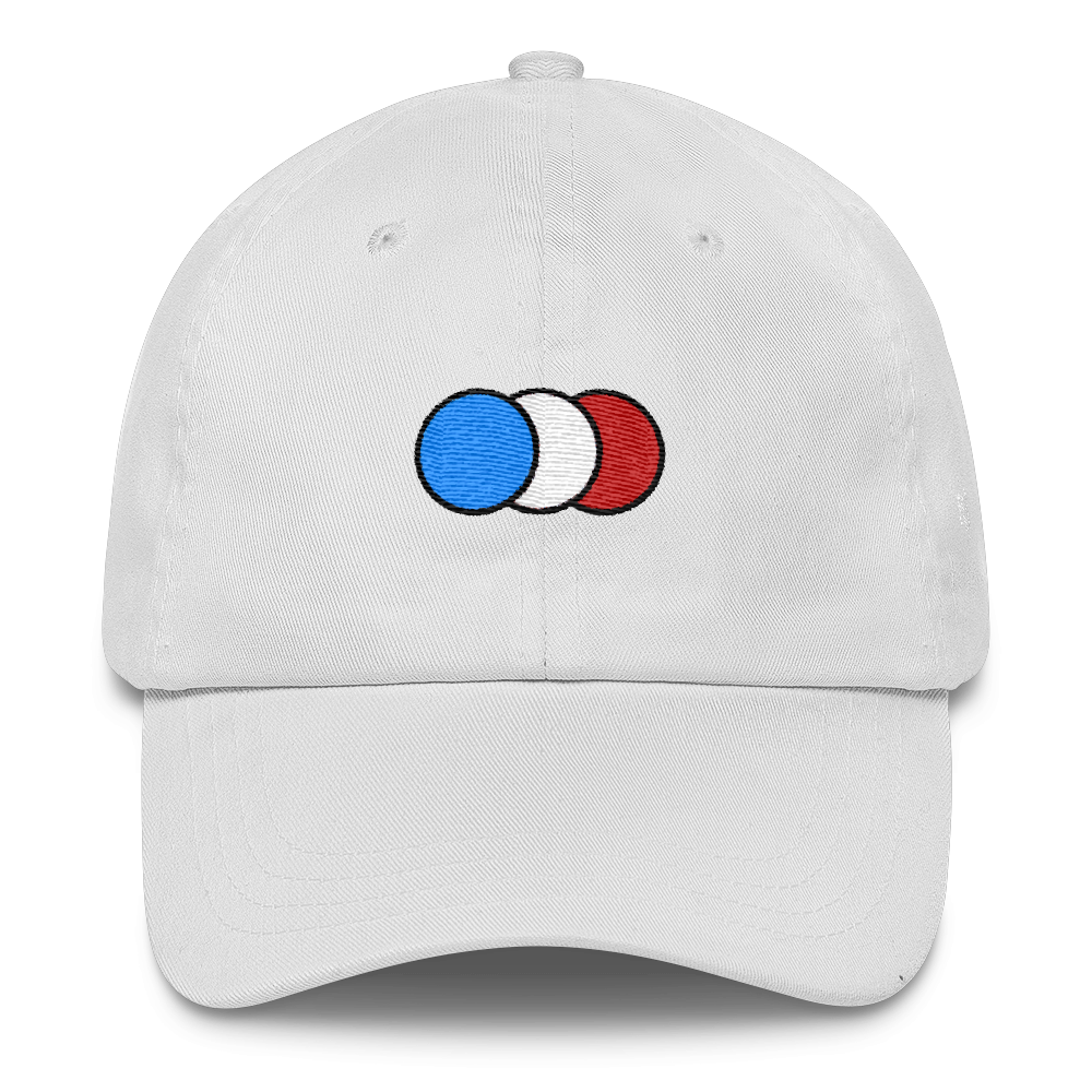 Image of White Six panel cap