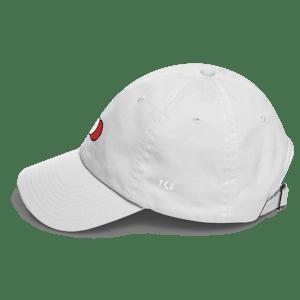 Image of White Six panel cap