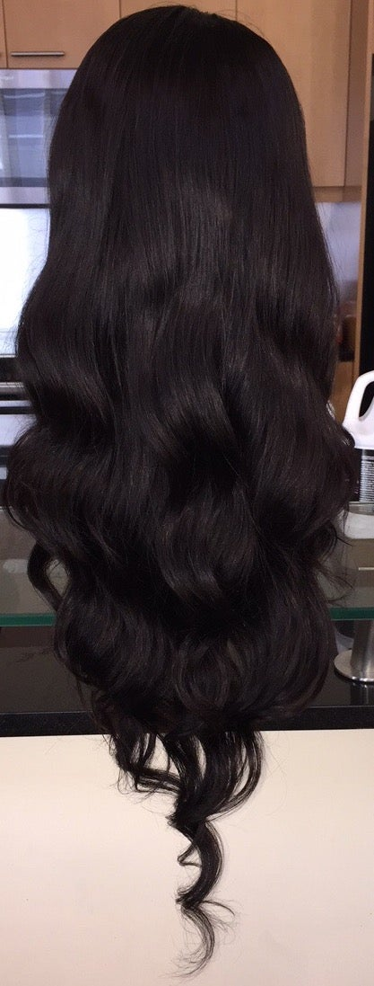 "Image of Indian Natural Wave 30"" Custom Lace Frontal Wig!"