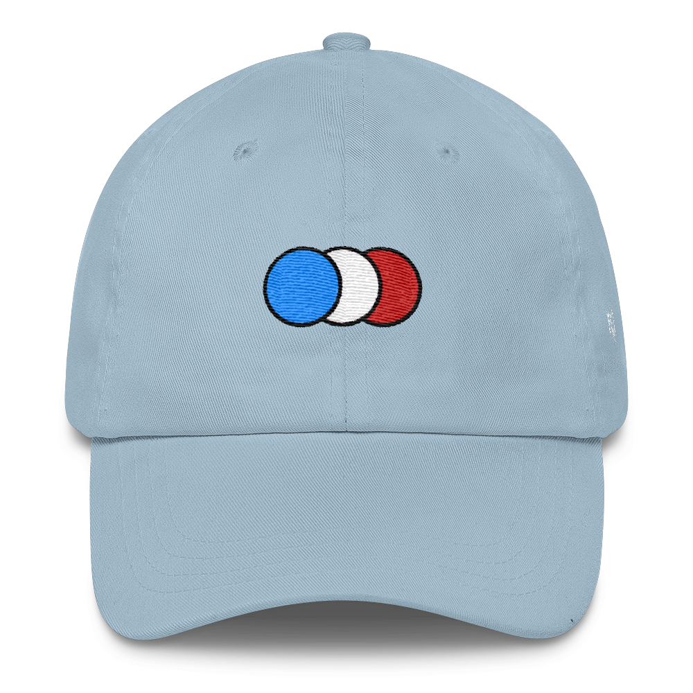 Image of Light Blue 6 panel