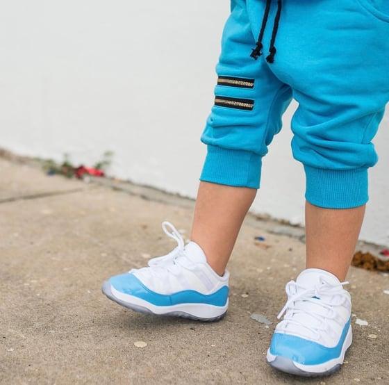 Image of Blue Zipper shorts