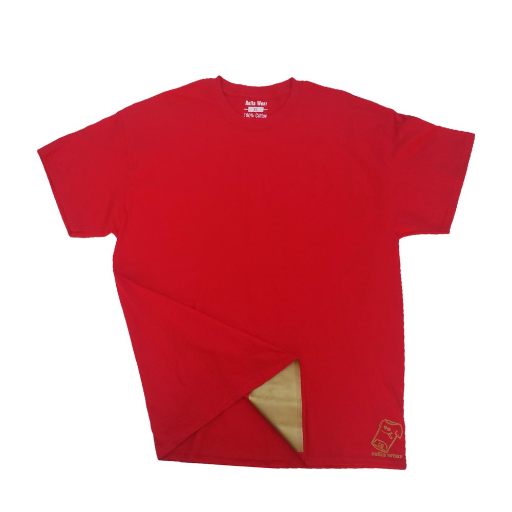 Image of Color of the week red n gold