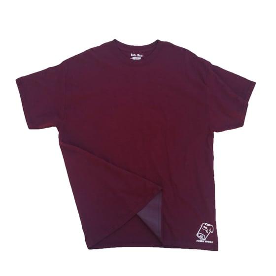 Image of Burgundy Rolla wear T-shirt