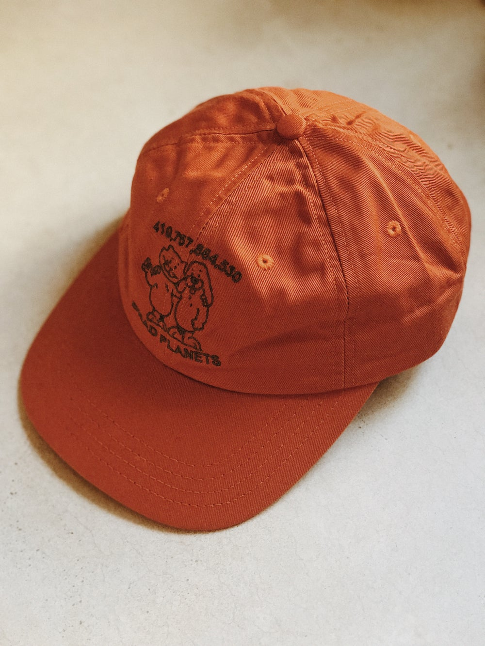 Image of East Side Powerviolence 'DOOMSDAY' Cap (Pumpkin)