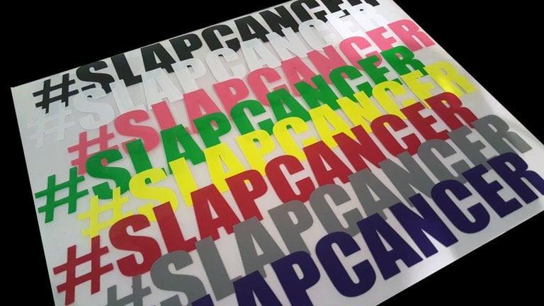 Image of #SLAPCANCER Stickers