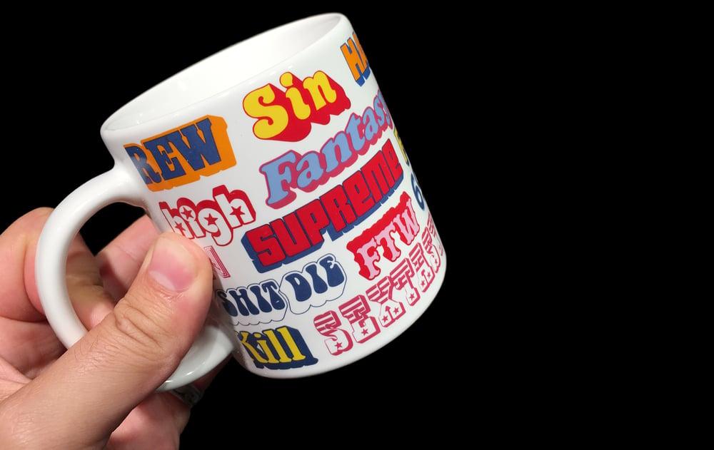 Image of 2017 Rifkin Safety Sac & Hysteric Glamour Coffee Mug
