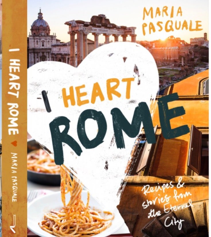 Image of I Heart Rome - the book, signed by Maria Pasquale (Australia only)