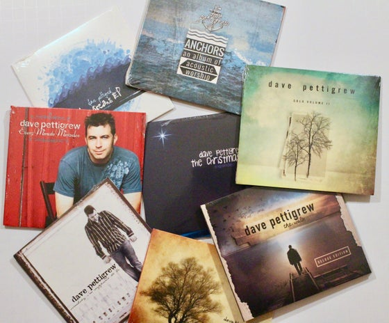 Image of 9 pack of CD's - all albums