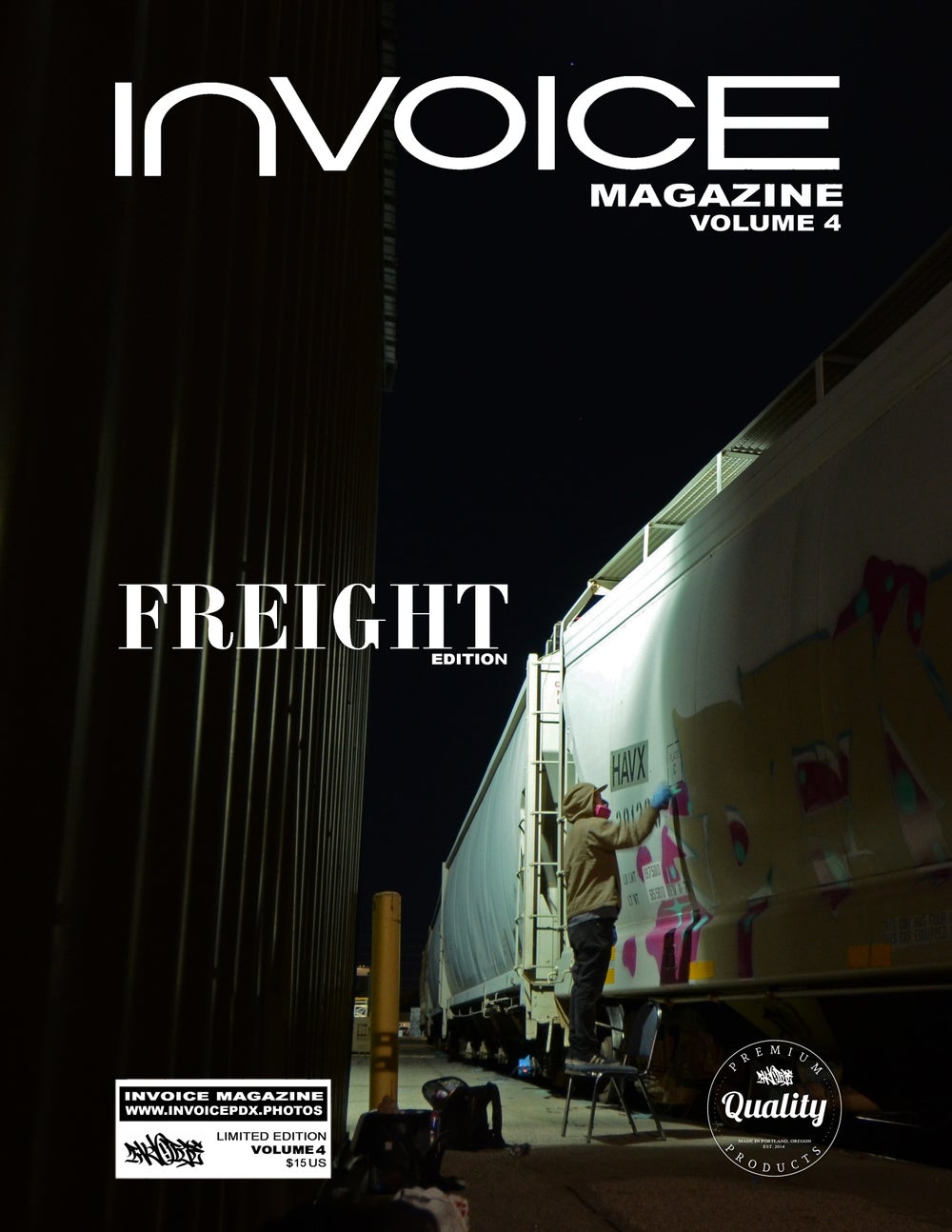 Image of Invoice Magazine: Volume 4