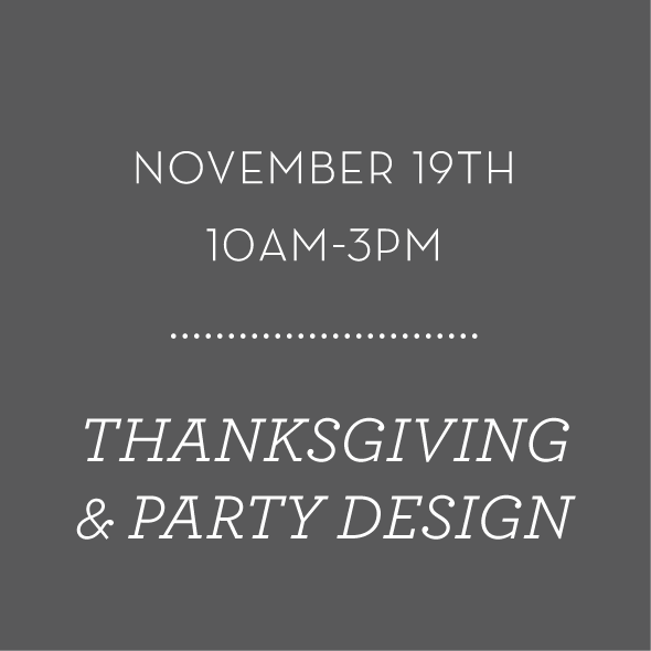 Image of Thanksgiving and Seasonal Holiday Party Design