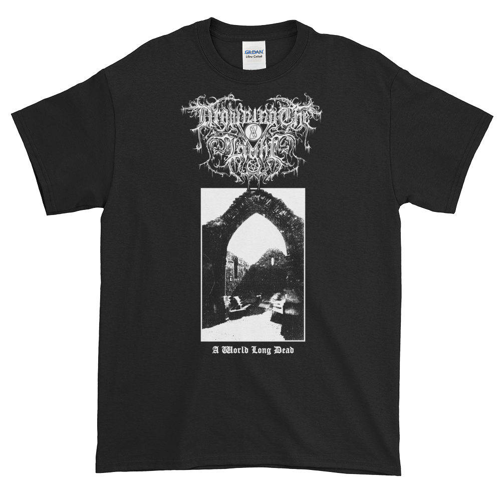 "Image of Drowning the Light - ""A World Long Dead"" shirt"