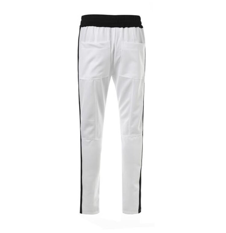 Image of White Black Striped Jogger