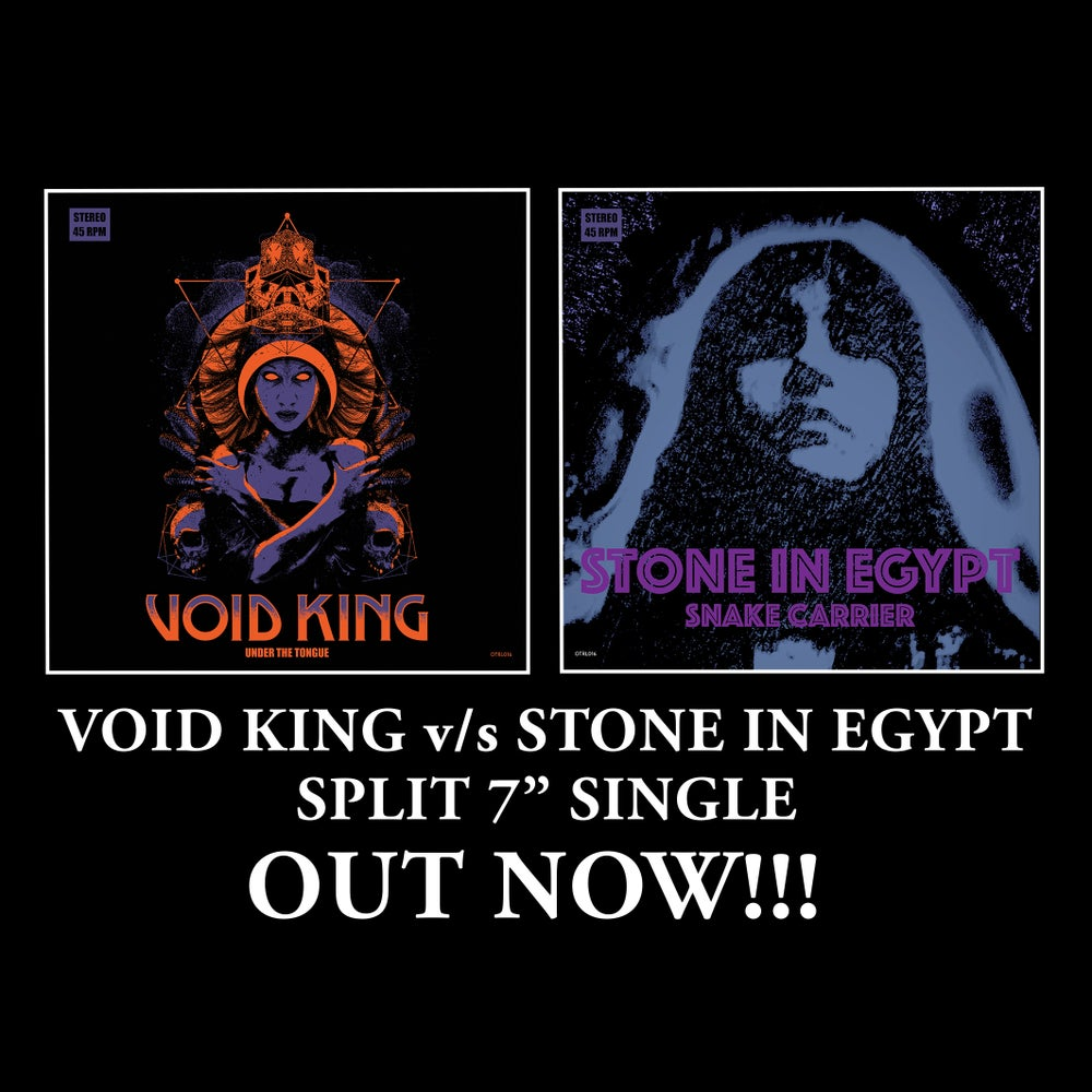 "Image of VOID KING / STONE IN EGYPT Split 7"" Single"