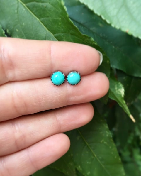 Image of Turquoise Stud Earrings