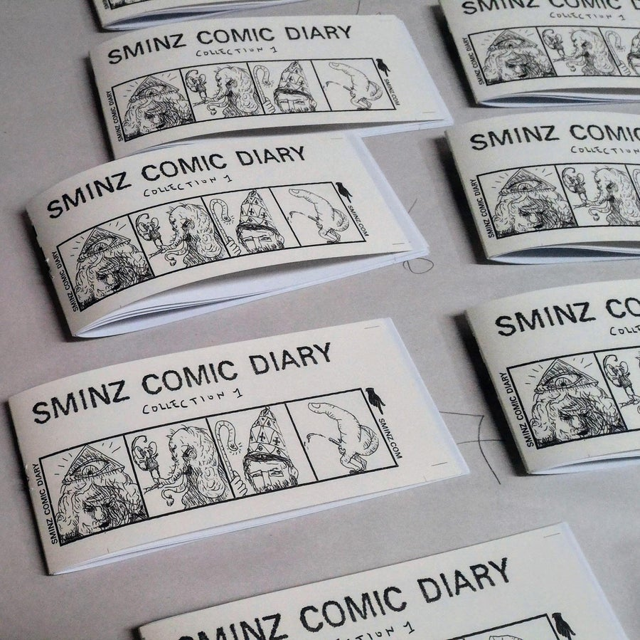 Image of SMINZ COMIC DIARY - Collection 1