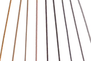 Image of Collier Court Red Sunset / Short Red Sunset Necklace