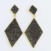 Image of Black Diamond Earrings