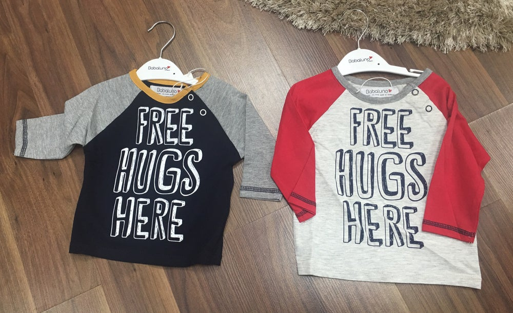 Image of Free hugs baby boys top