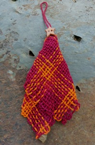 Image of Squires Tree Ornament 3, handwoven