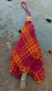 Image of Squires Tree Ornament 4, handwoven