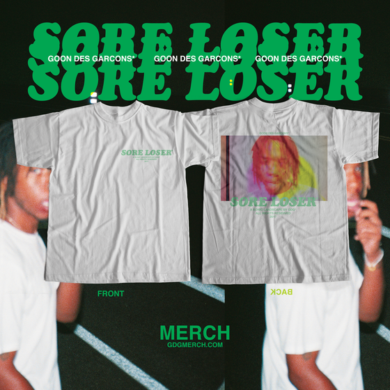 """Image of """"LOSER LOSER"""" Tee (WHITE)"""