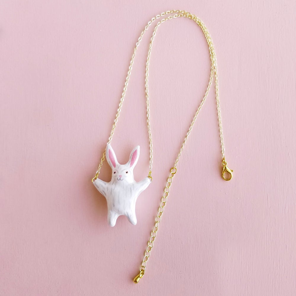 Image of Liten Kanin Rabbit Necklace
