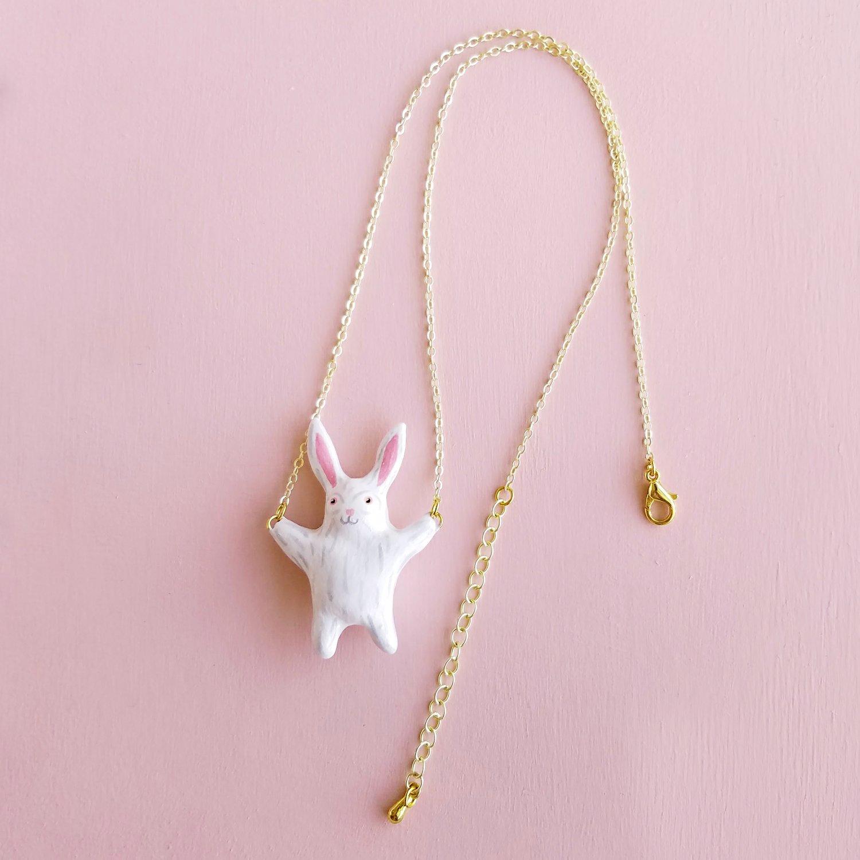 Image of Liten Kanin Rabbit Necklace