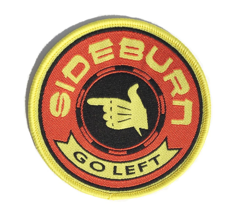Image of Sideburn Spanish Turn Left Patch