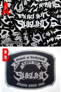 """Image of Patches (embroidered or """"Drunk since 2005"""")"""