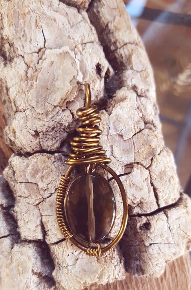 Image of   Smoky Quartz necklace