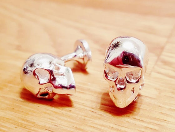 Image of Skull cufflinks